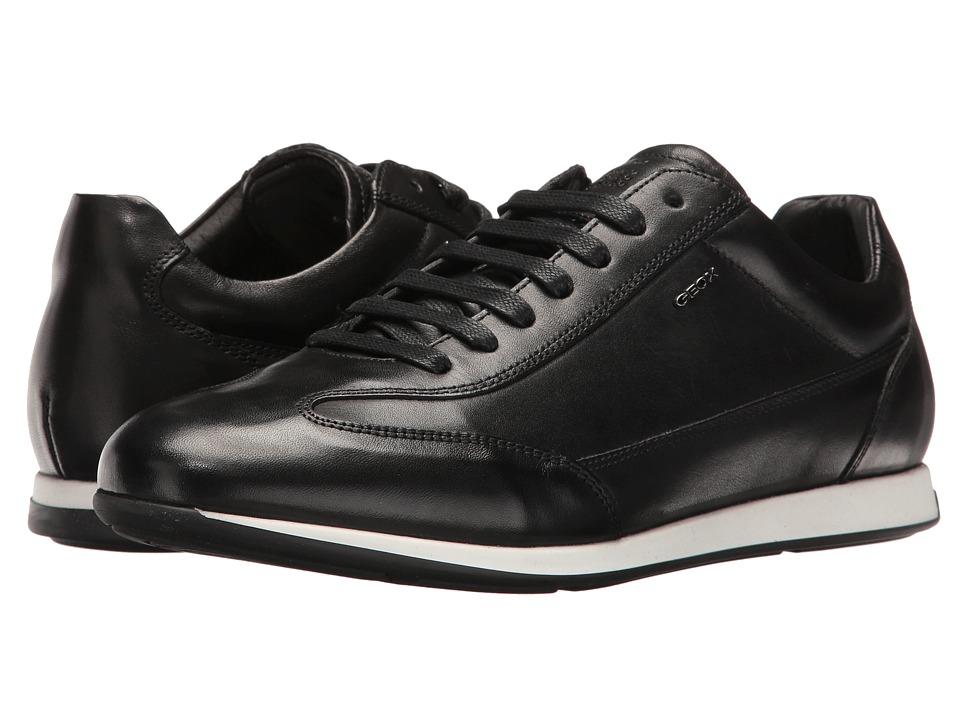 Geox - M CLEMET 1 (Black) Men's Lace up casual Shoes