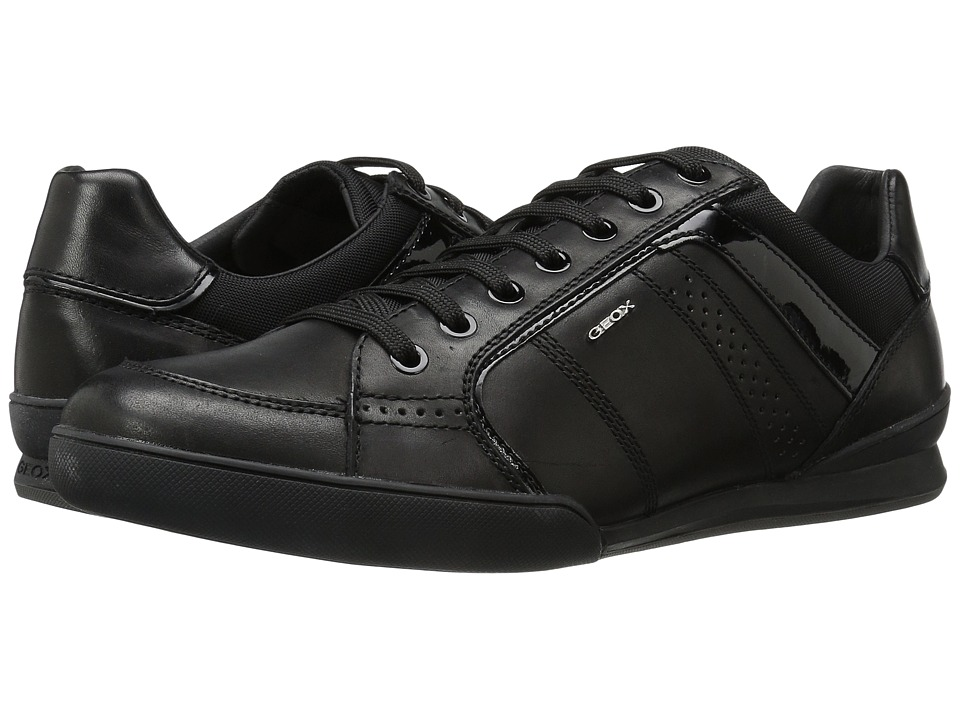 Geox - M KRISTOF 6 (Black) Men's Lace up casual Shoes