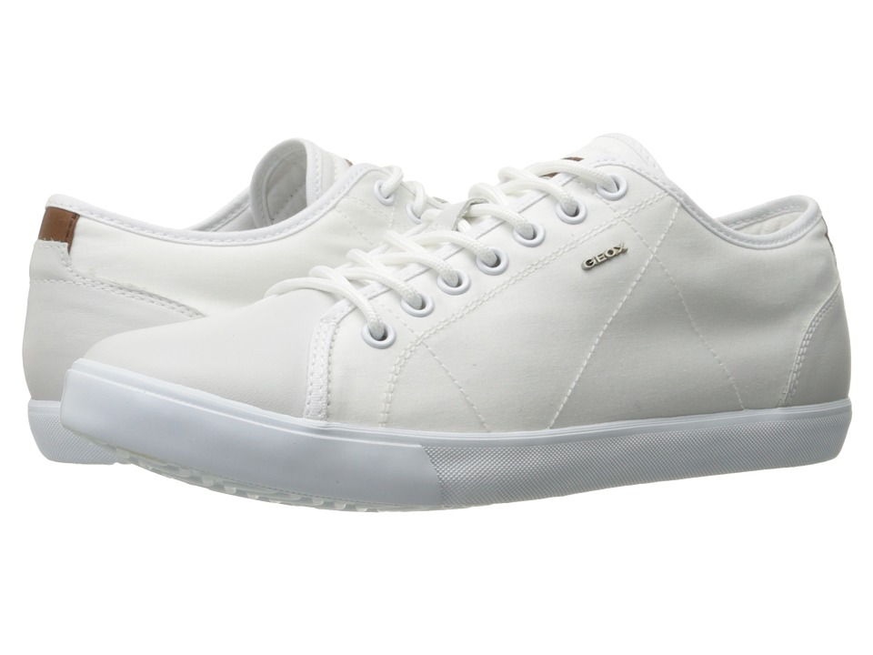 Geox - M SMART 73 (White/White) Men's Lace up casual Shoes