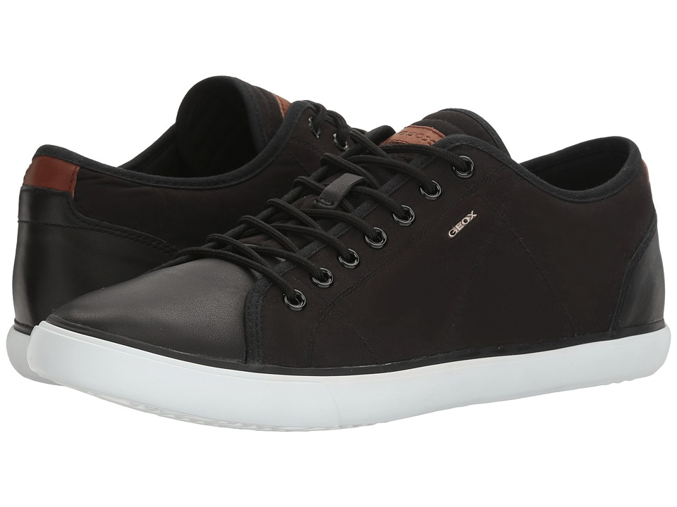 Geox - M SMART 73 (Black) Men's Lace up casual Shoes