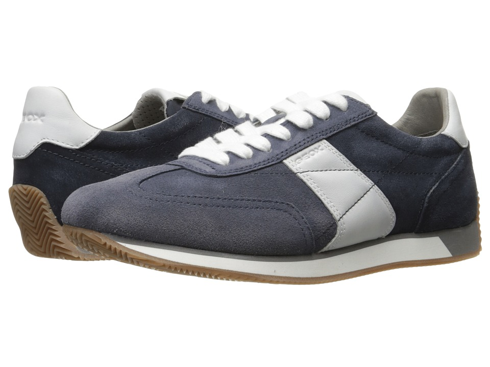 Geox - M VINTO 1 (Light Navy/Navy) Men's Lace up casual Shoes