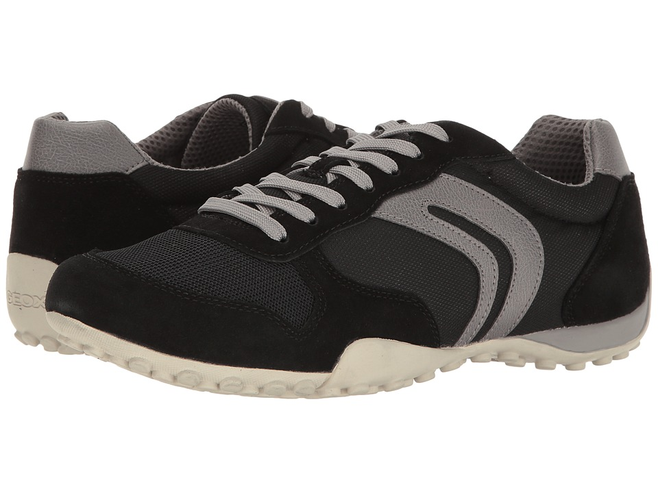 Geox - M SNAKE 118 (Black/Grey) Men's Shoes