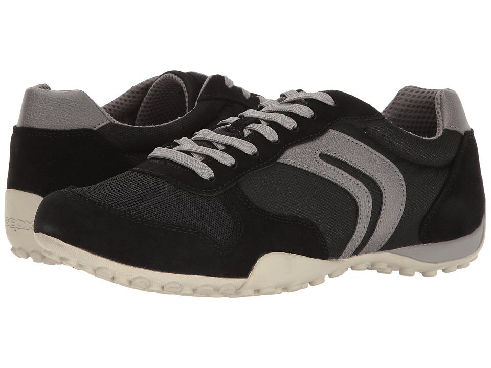 Geox - M SNAKE 118 (Black/Grey) Men's Shoes