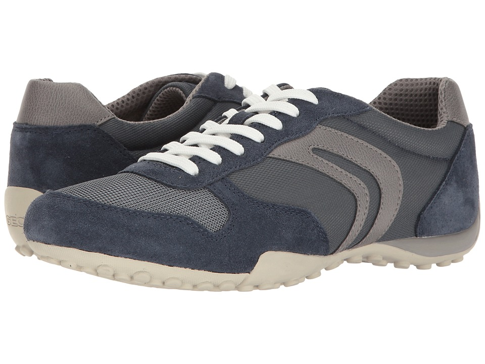 Geox - M SNAKE 118 (Light Navy/Grey) Men's Shoes