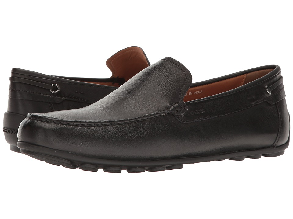 Geox - M GIONA 8 (Black) Men's Slip on Shoes
