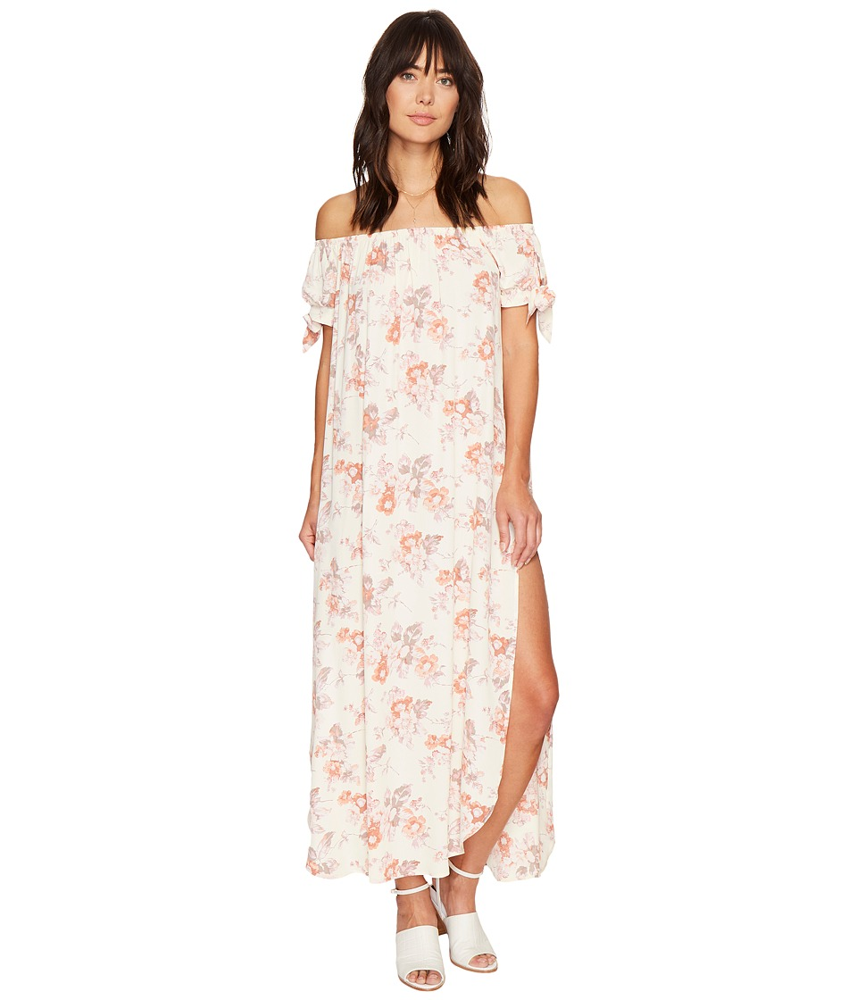 Flynn Skye - Maple Maxi Dress (Cream Blossoms) Women's Dress