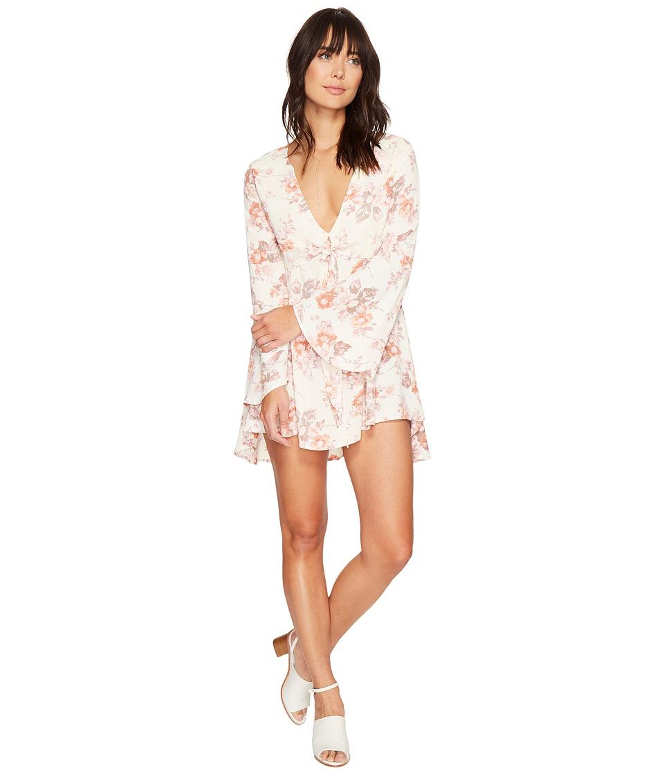 Flynn Skye - London Mini Dress (Cream Blossoms) Women's Dress