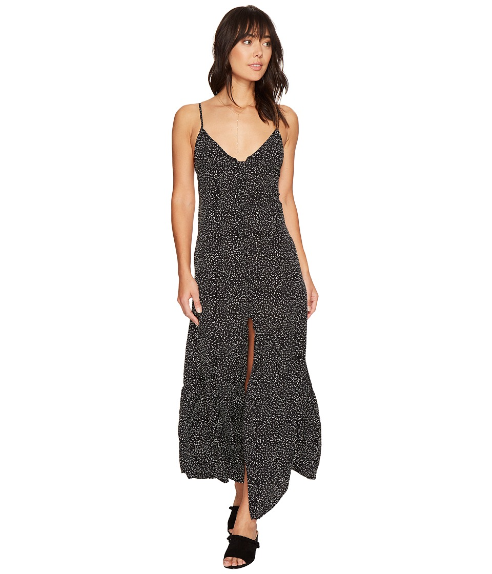 Flynn Skye - Unbutton Me Fresh Dress (Black Orbit) Women's Dress