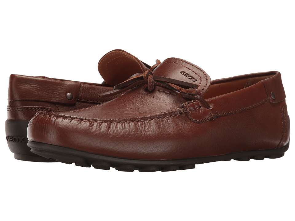 Geox - M GIONA 9 (Brown Cotto) Men's Slip on Shoes