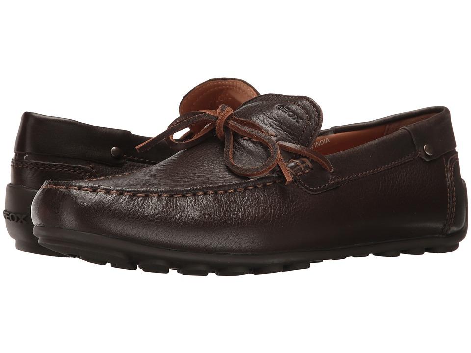 Geox - M GIONA 9 (Chocolate) Men's Slip on Shoes