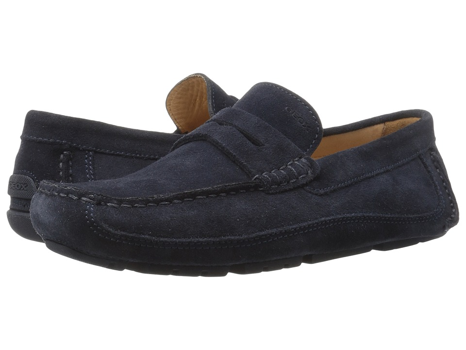 Geox - M MELBOURNE 1 (Navy) Men's Slip on Shoes
