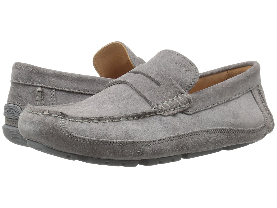 Geox - M MELBOURNE 1 (Anthracite) Men's Slip on Shoes