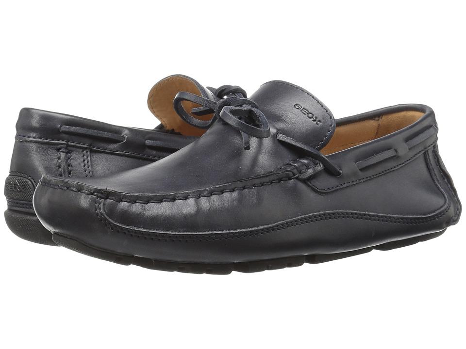 Geox - M MELBOURNE 3 (Navy) Men's Slip on Shoes