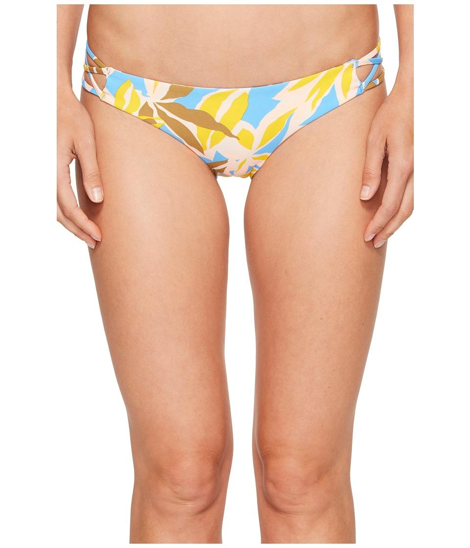 Volcom - Palms Up Full Bottom (Coastal Blue) Women's Swimwear