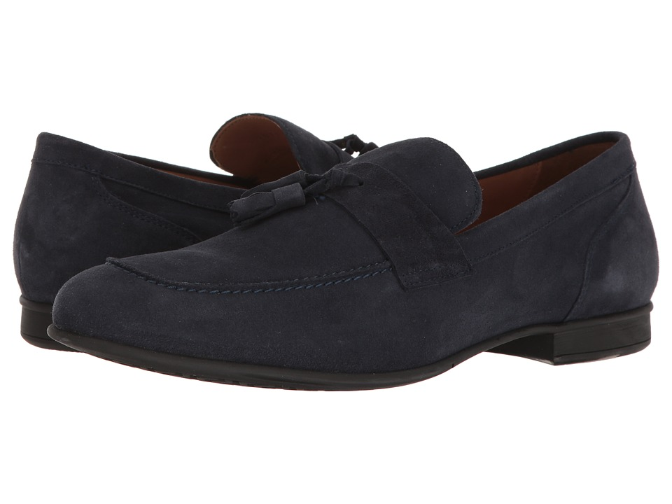 Geox - M WILBURG 1 (Navy) Men's Slip on Shoes