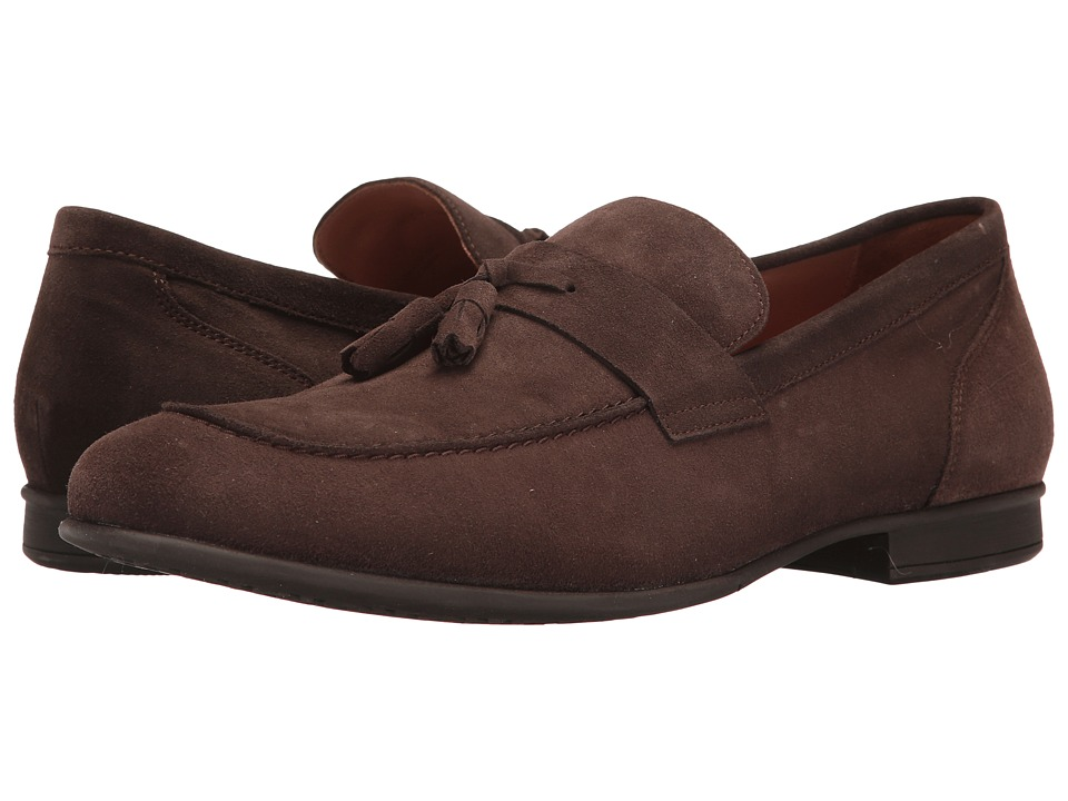 Geox - M WILBURG 1 (Chocolate) Men's Slip on Shoes