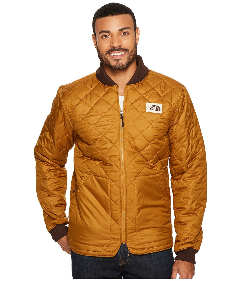 The North Face Cuchillo Insulated Jacket (Golden Brown) Men