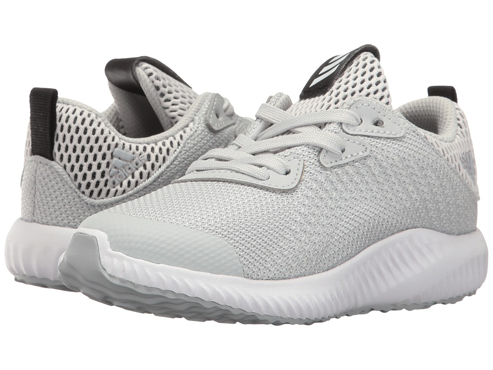 adidas Kids Alphabounce C (Little Kid) (Clear Grey/Footwear White/Clear Onix) Kids Shoes
