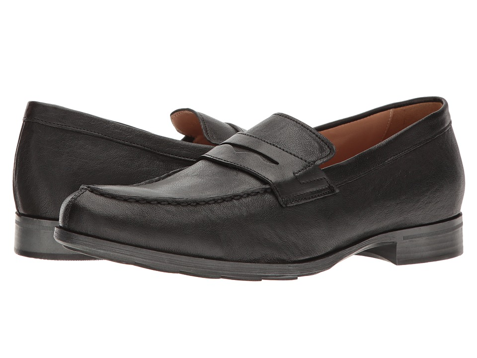 Geox - M BESMINGTON 6 (Black) Men's Slip on Shoes