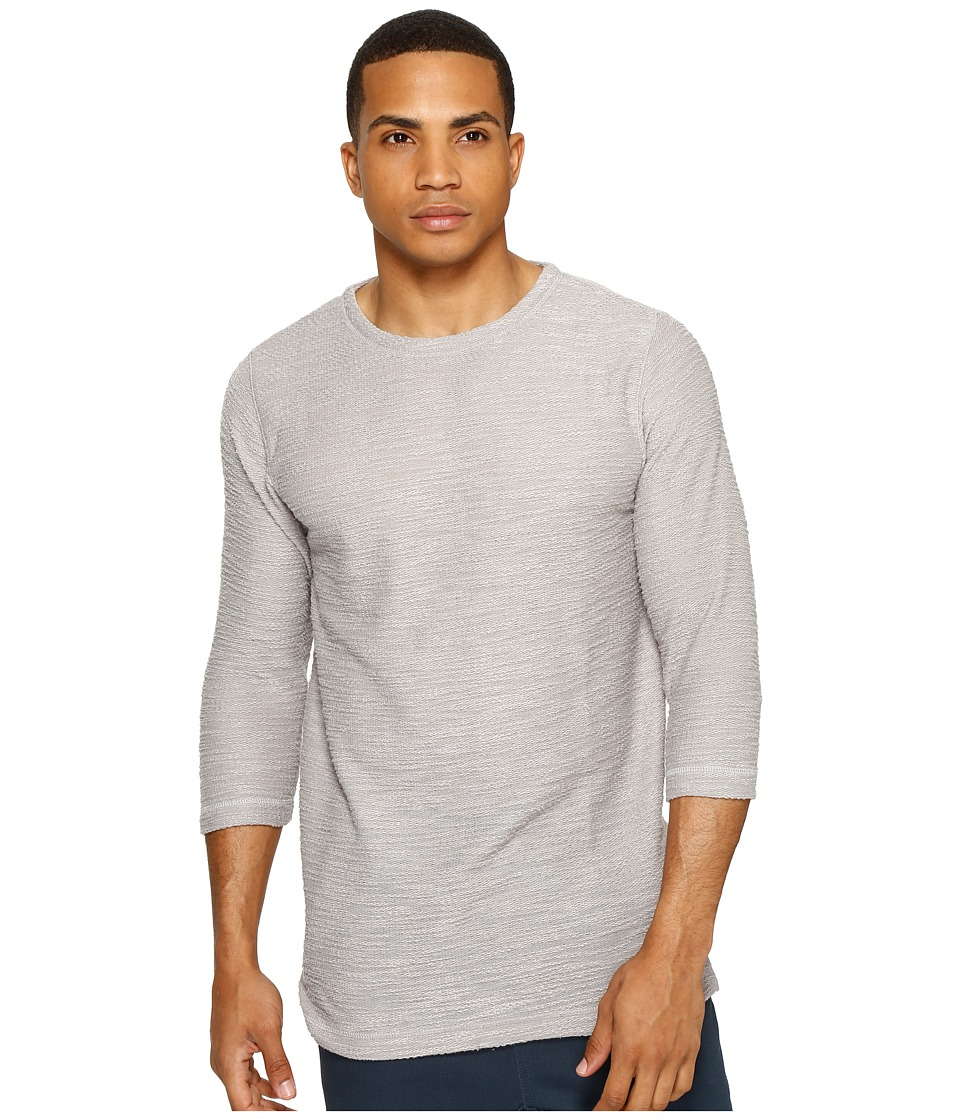 Publish - Conor - 3/4 Length Sleeve Knit (Heather) Men's Clothing
