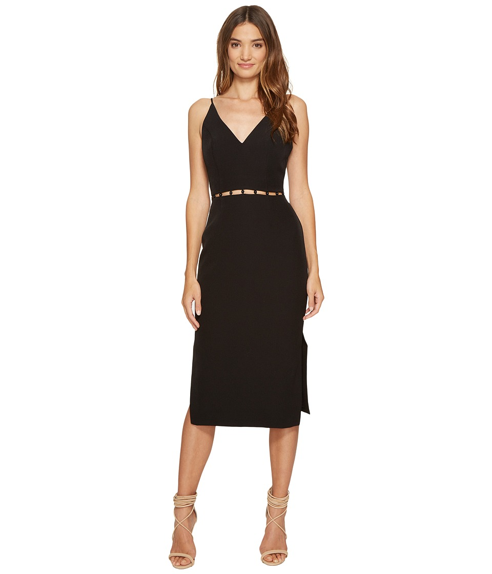 KEEPSAKE THE LABEL - Signals Midi Dress (Black) Women's Dress