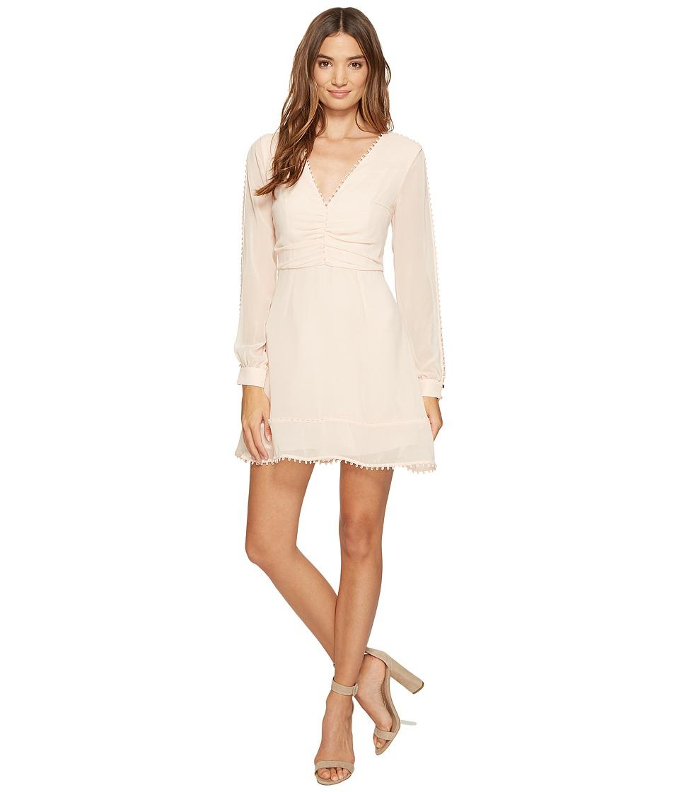 KEEPSAKE THE LABEL - Come Around Long Sleeve Mini Dress (Shell) Women's Dress