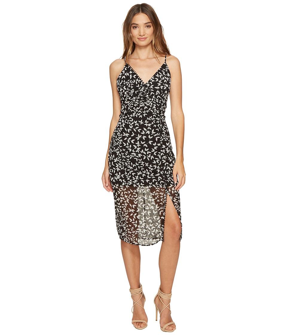 KEEPSAKE THE LABEL - Come Around Dress (Dark Ivy Print) Women's Dress