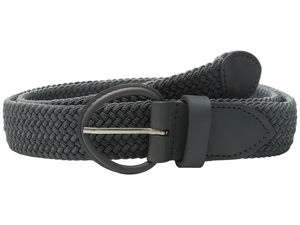 Florsheim - Kepper Woven Belt (Grey) Men's Belts