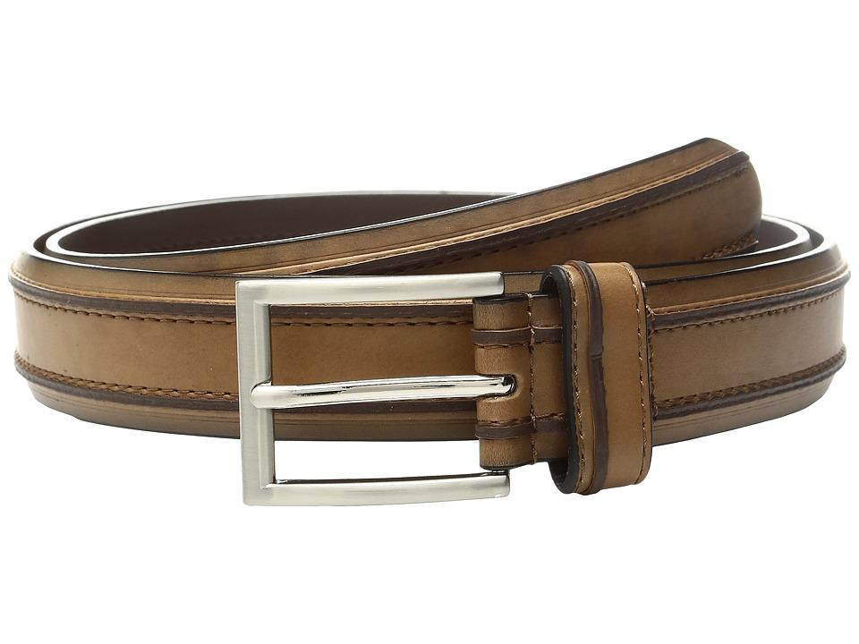 Florsheim - Saddle Leather Belt (Saddle Tan) Men's Belts