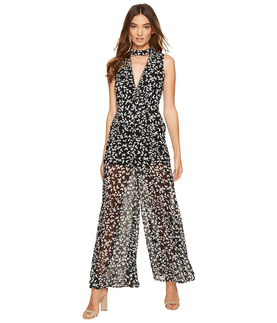 KEEPSAKE THE LABEL - Come Around Jumpsuit (Dark Ivy Print) Women's Jumpsuit & Rompers One Piece