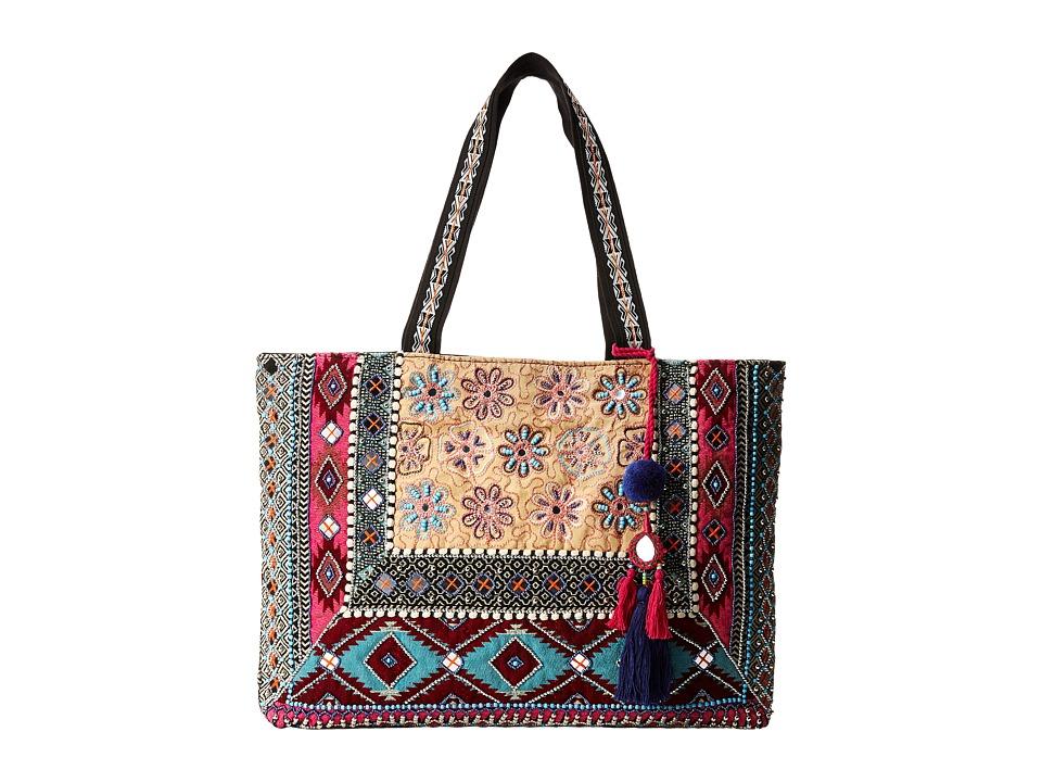 Steven - Sabbie Tote (Pink) Tote Handbags