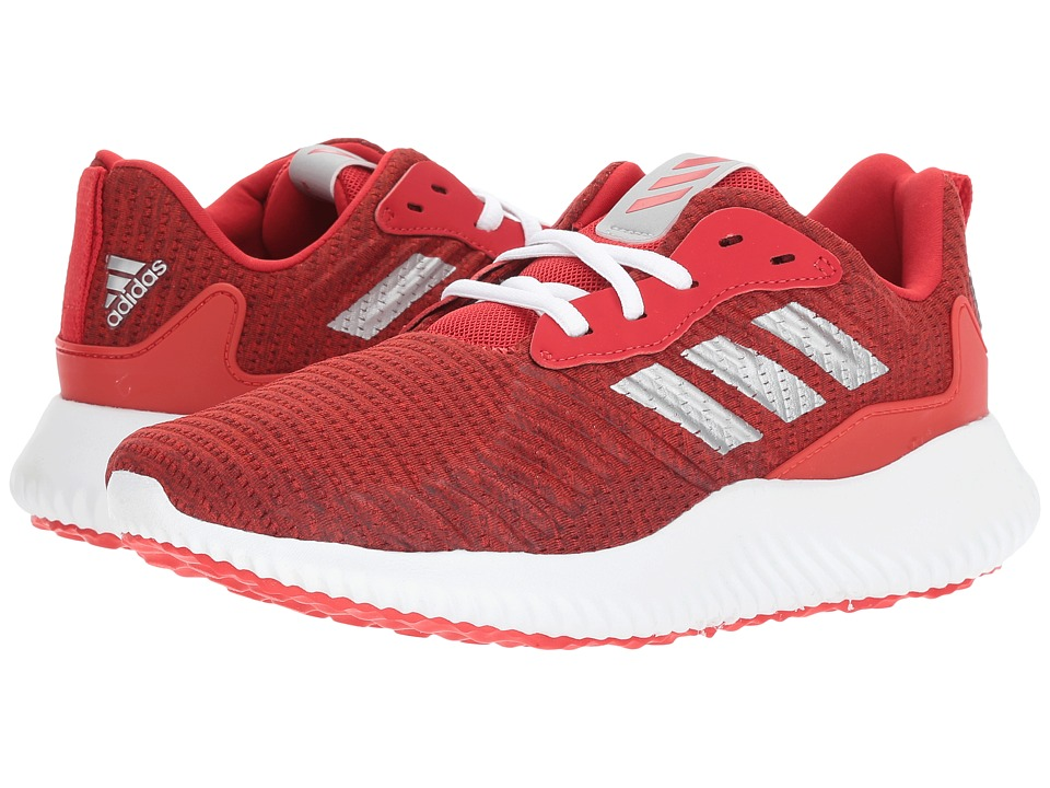 adidas Kids - Alphabounce RC J (Big Kid) (Core Red/Silver Metallic/Scarlet) Boys Shoes