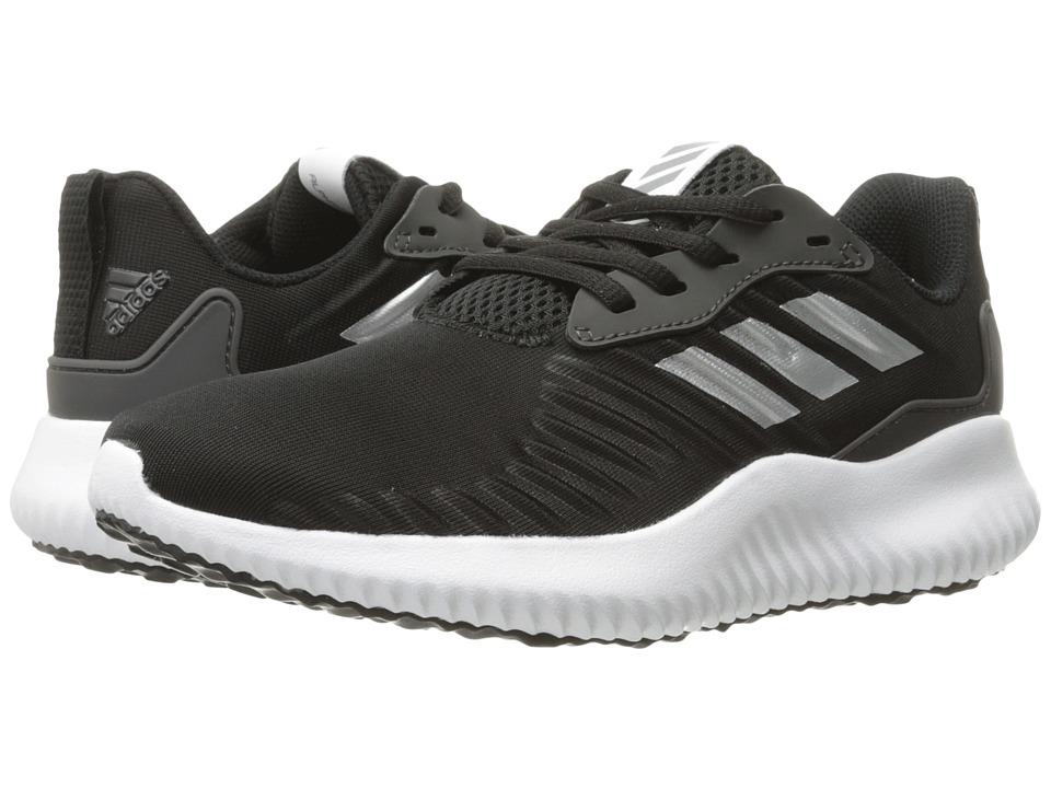 adidas Kids - Alphabounce RC J (Big Kid) (Core Black/Iron Metallic/Utility Black) Boys Shoes