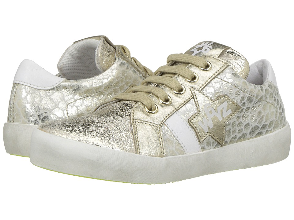W6YZ - Band J (Little Kid/Big Kid) (Scratch Gold) Girl's Shoes