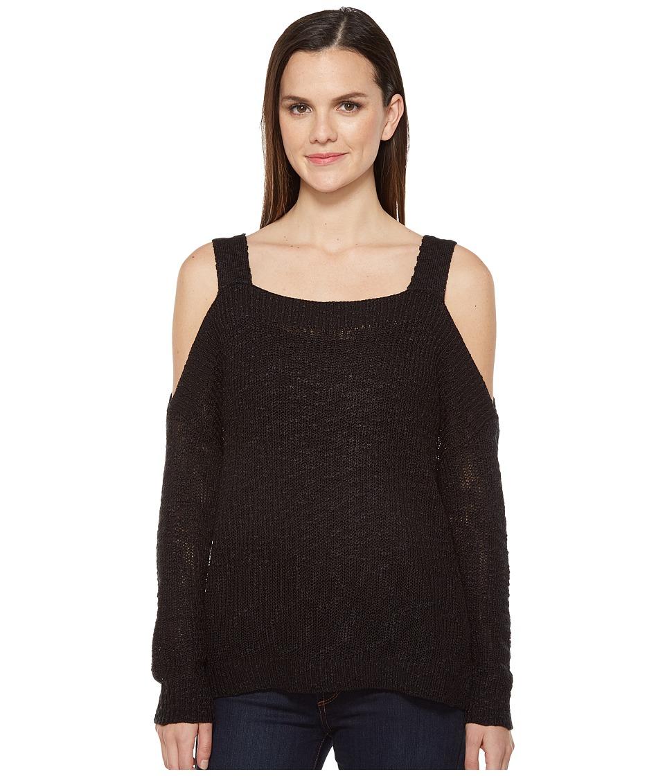 Brigitte Bailey - Knockabout Cold Shoulder (Black) Women's Clothing
