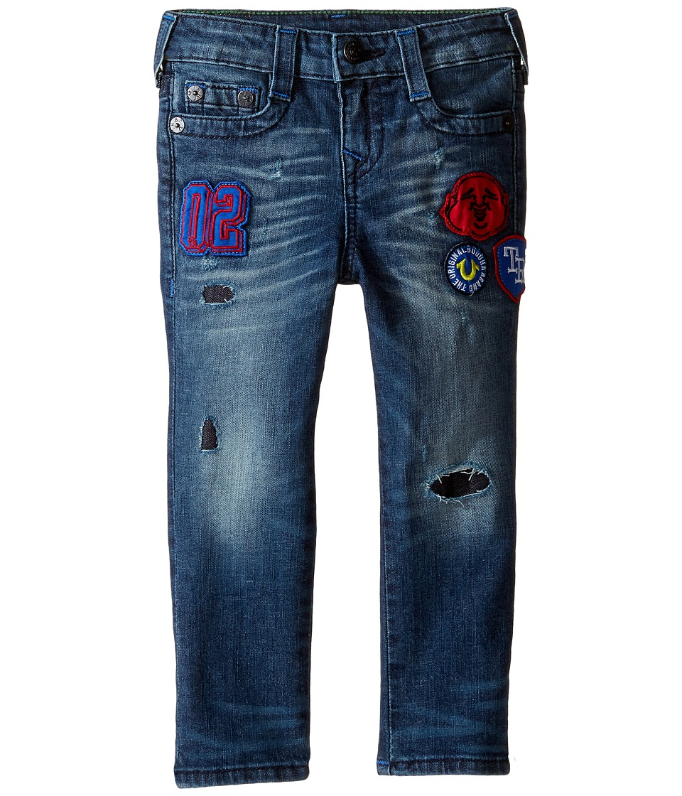 True Religion Kids Rocco Jeans in Decoded Wash (Toddler/Little Kids) (Decoded Wash) Boy