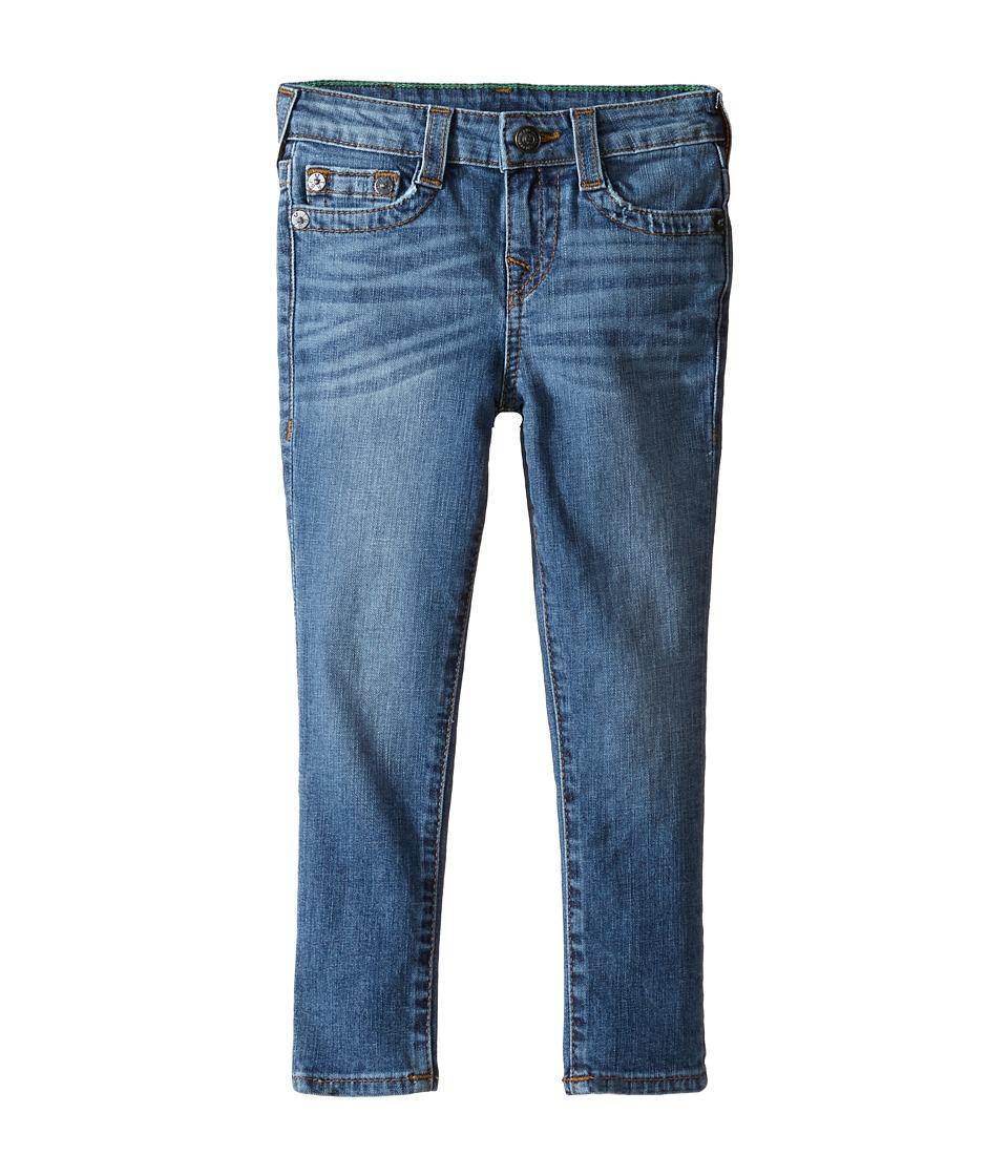 True Religion Kids - Tony Jeans in Casper Blue (Toddler/Little Kids) (Casper Blue) Boy's Jeans