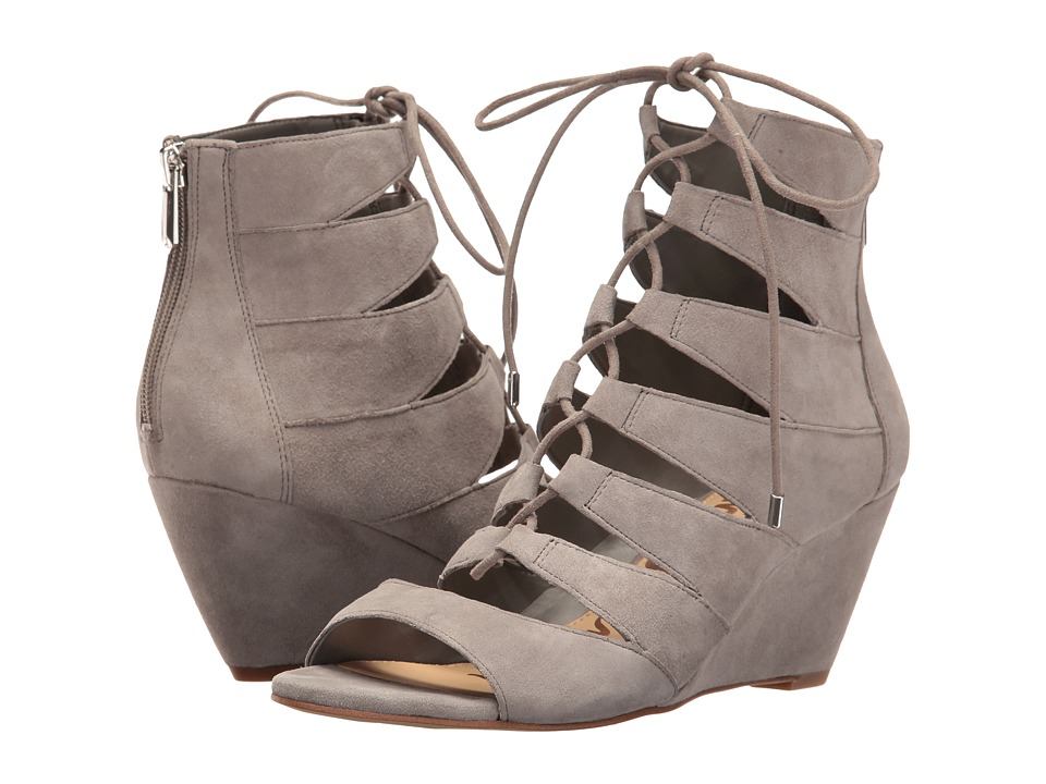 Sam Edelman - Santina (Grey Suede) Women's Shoes