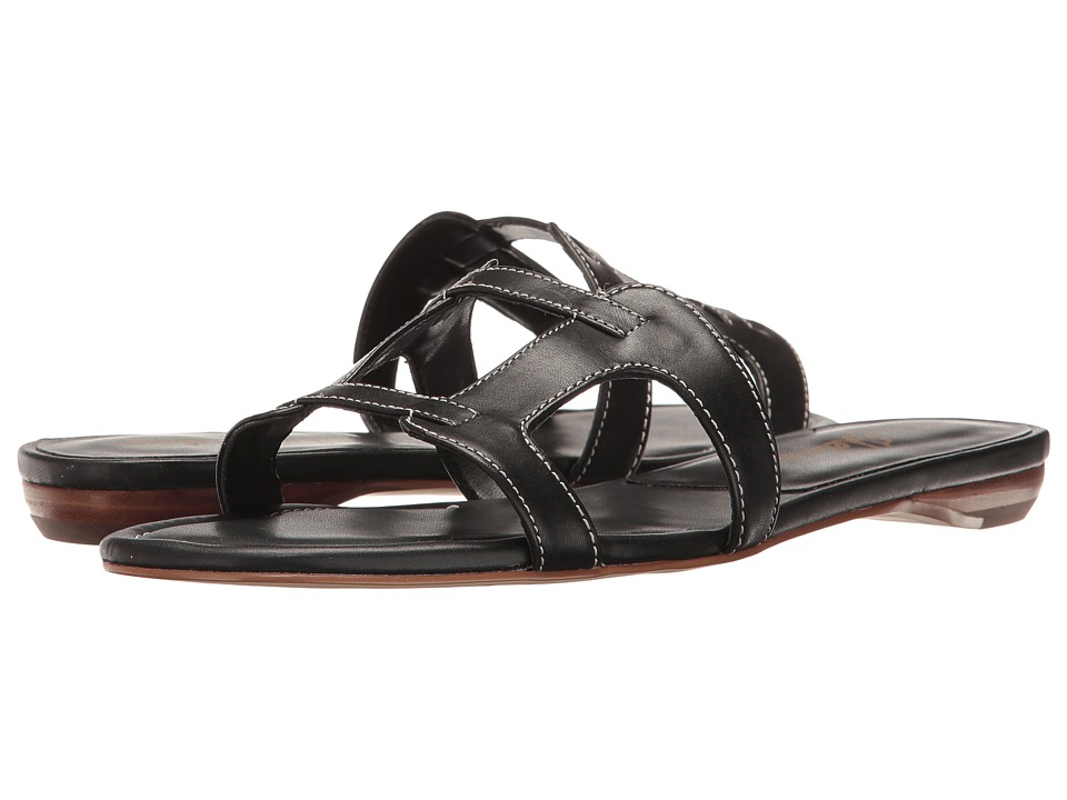Sam Edelman - Beverly (Black Leather) Women's Sandals
