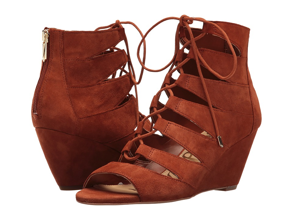Sam Edelman - Santina (Cinnamon Suede) Women's Shoes