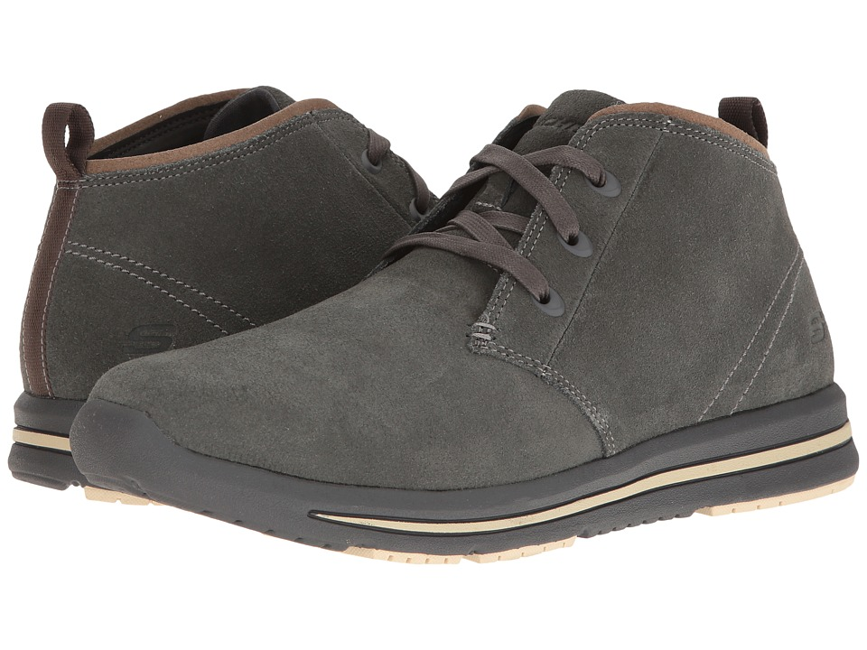 SKECHERS Relaxed Fit Doren Marcin (Charcoal) Men