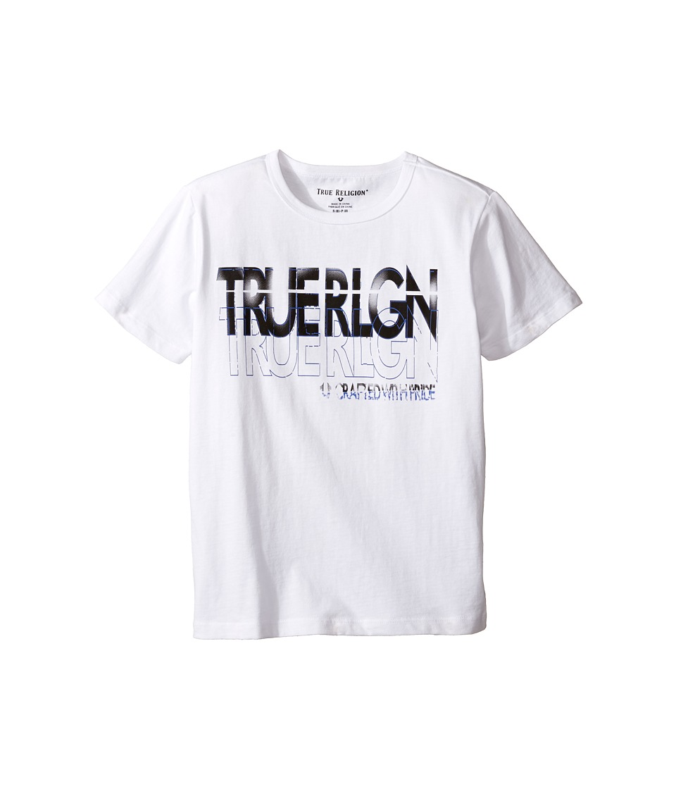 True Religion Kids - Shadow Tee (Big Kids) (White) Boy's T Shirt