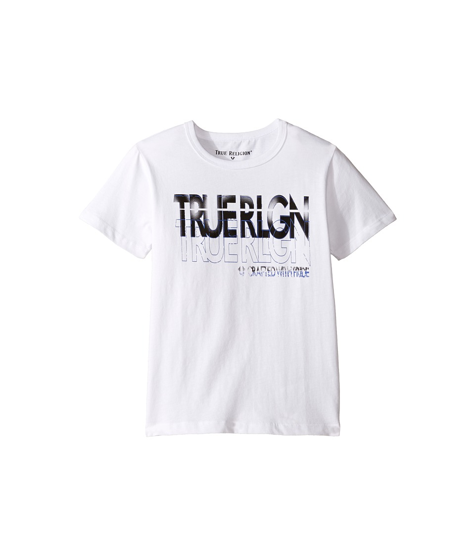 True Religion Kids - Shadow Tee (Toddler/Little Kids) (White) Boy's T Shirt