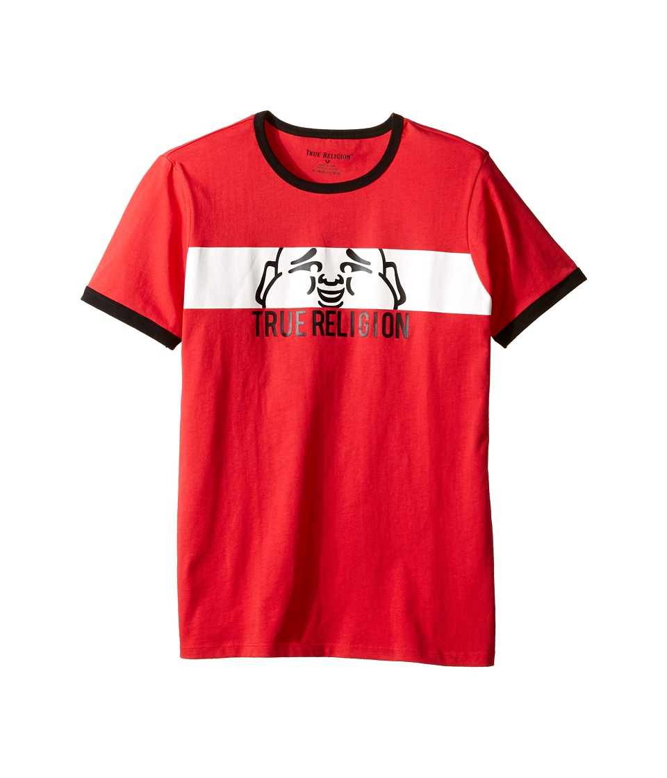 True Religion Kids - Buddha Tee (Big Kids) (Bright Red) Boy's T Shirt