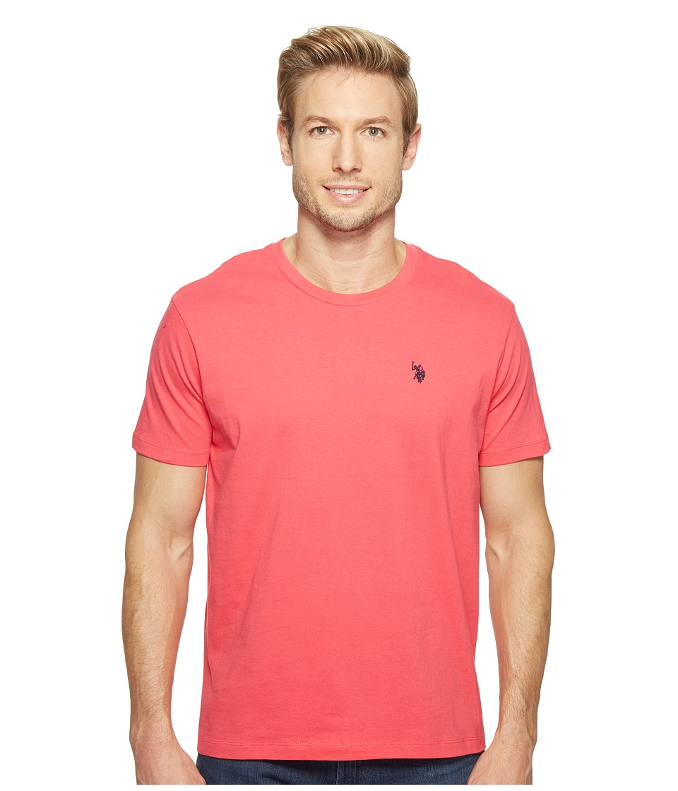 U.S. POLO ASSN. - Crew Neck Small Pony T-Shirt (Celebrity Pink) Men's Short Sleeve Pullover