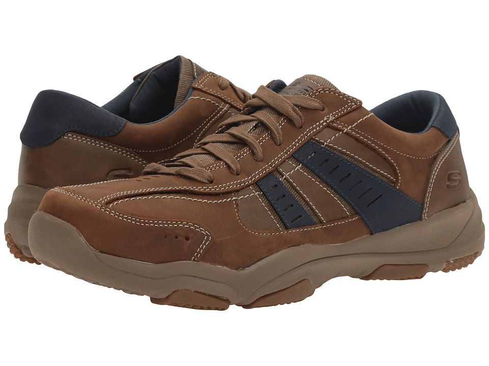 SKECHERS Relaxed Fit Larson Nerick (Desert) Men