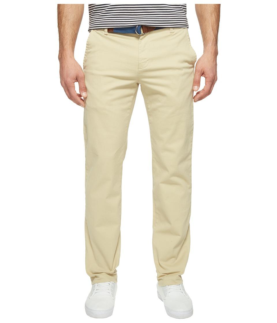 U.S. POLO ASSN. - Slim Straight Five-Pocket Denim Jeans in Khaki Stone (Khaki Stone) Men's Jeans