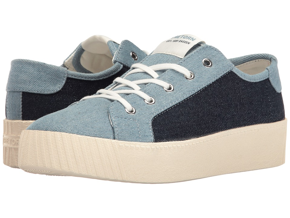 Tretorn Blaire (Dark Blue/Light Blue) Women