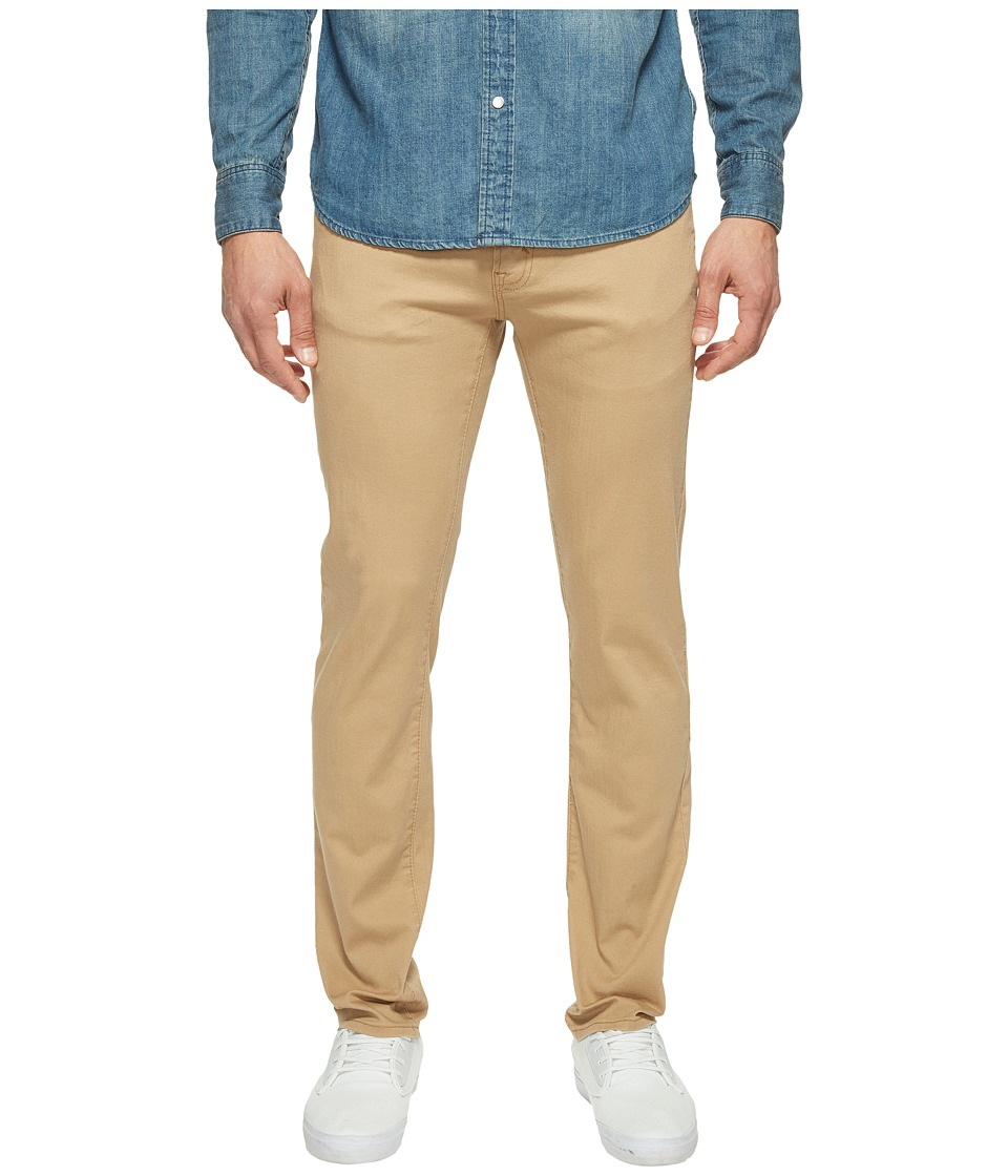 U.S. POLO ASSN. - Stretch Chino Slim Straight Pants (Honey) Men's Casual Pants