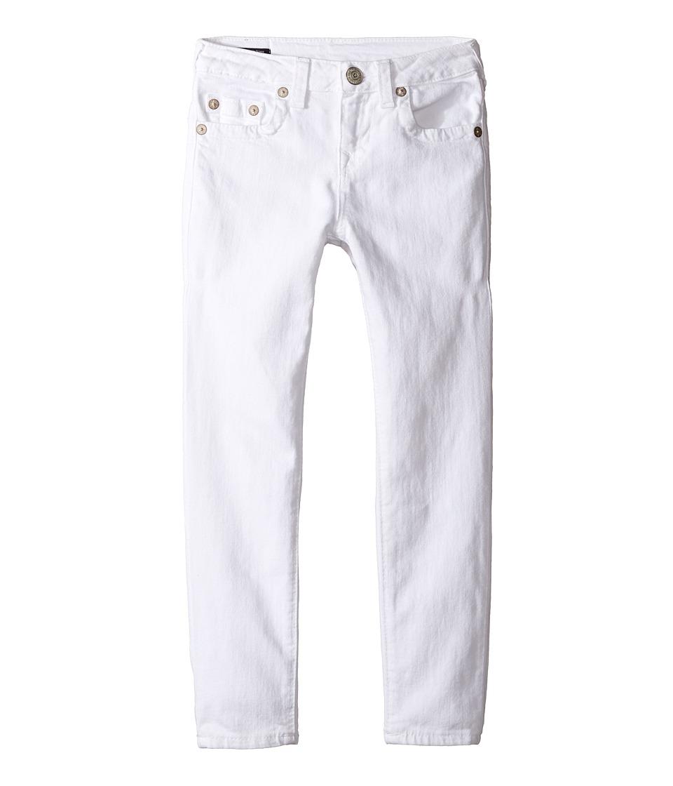 True Religion Kids - Casey Ankle Skinny in White (Big Kids) (White) Girl's Jeans